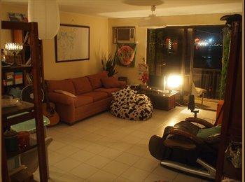 Room to rent in top floor flat w sea view