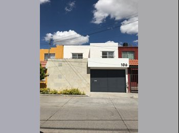 CompartoDepa MX - Habitaciones Disponibles - Aguascalientes, Aguascalientes - MX$2,700 por mes