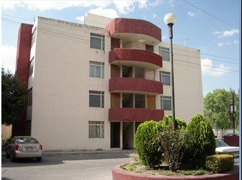 CompartoDepa MX - RENTO DEPARTAMENTO - Aguascalientes, Aguascalientes - MX$3,300 por mes