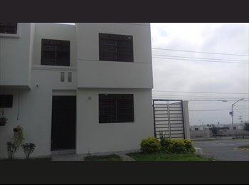 CompartoDepa MX - Comparto casa amueblada a 15 minutos de la UANL - Escobedo, Monterrey - MX$1,900 por mes