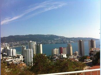 CompartoDepa MX - RENTA CON VISTA ESPECTACULAR - Acapulco, Acapulco - MX$6,000 por mes