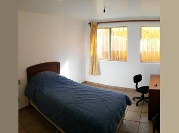Habitacion para Hombre o Mujer Joven