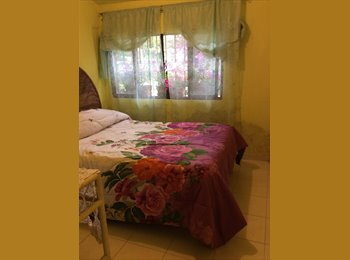 CompartoDepa MX - Hermoso Bungalow amueblado ideal pareja o jubilado - Tepic, Tepic - MX$3,000 por mes