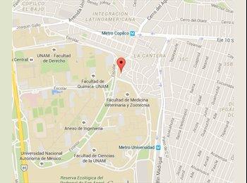 Busco roomie para cuarto cerca de la UNAM