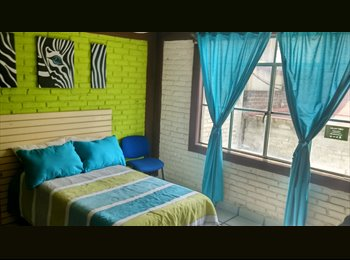 Renta habitaciones amuebladas a 10 min de la UNAM