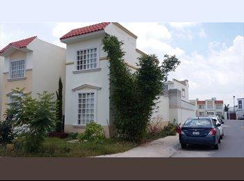 CompartoDepa MX - Rento hermosa casa o cuartosen privada Santa Barbara residelcial para profesionistas. - San Luis Potosí, San Luis Potosí - MX$3,500 por mes