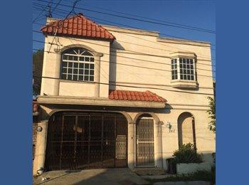 CompartoDepa MX - Cuarto en Zona Tec, casa compartida y amueblada!! - Tecnológico, Monterrey - MX$3,500 por mes