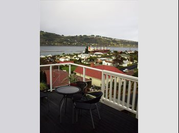 NZ - New townhouse, furnished single and double room - Ravensbourne, Dunedin - $165 pw