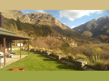 NZ - Shotover Valley - Queenstown, Queenstown-Lakes - $300 pw