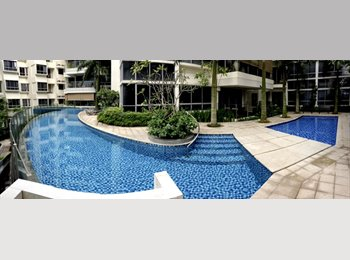 EasyRoommate SG - Double room with balcony in Penthouse+roof terrace - River Valley, Singapore - $2,200 pcm