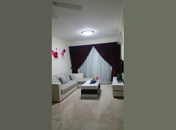 hougang green condo room for rent