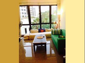 EasyRoommate SG - Room with private Bathroom-EastpointGreen Condo - Simei, Singapore - $1,100 pcm