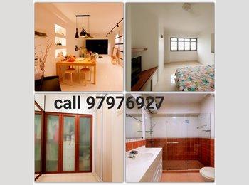 EasyRoommate SG - Big Spacious MasterRoom W/ Attached Bath (rent $1000) - Sengkang, Singapore - $1,000 pcm