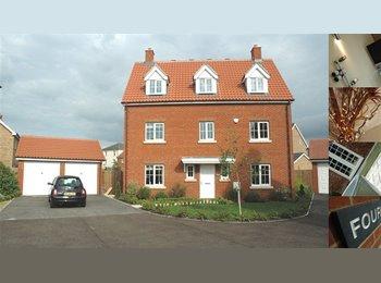 EasyRoommate UK - Flatmate sought for friendly modern house - Double Room ! - Woodbridge, Woodbridge - £400 pcm