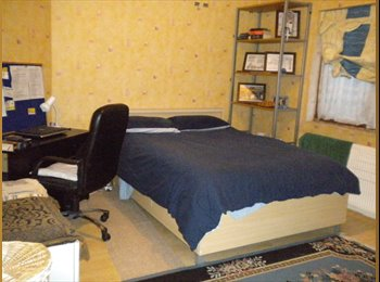 1 Large, spacious, bright and clean double room.