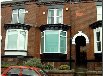 EasyRoommate UK - Hunters Bar:  Double Room in Superb 4  Bed  Hse - Hunters Bar, Sheffield - £275 pcm