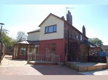 EasyRoommate UK - Double room available newcastle under lyme - Newcastle-under-Lyme, Newcastle under Lyme - £375 pcm