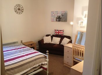 EasyRoommate UK - 1  large double bedsits - Portswood, Southampton - £435 pcm