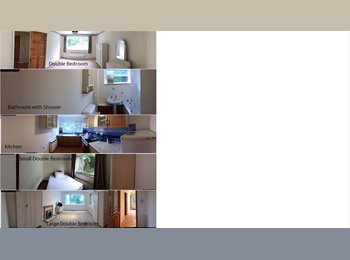 Refurbished Double and Single Rooms en suite