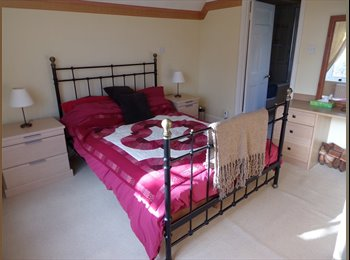 EasyRoommate UK - DOUBLE EN-SUITE TO LET IN FAMILY HOUSE - Truro, Truro - £460 pcm