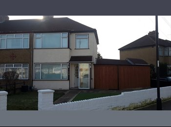3 double bedrooms in semi detached house