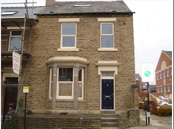 EasyRoommate UK - Excellent 5 bedroom student house - Broomhill, Sheffield - £410 pcm