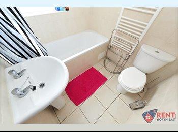 EasyRoommate UK - Room in Modernized Double Room - All Bills Inc. - Gateshead, Gateshead - £303 pcm