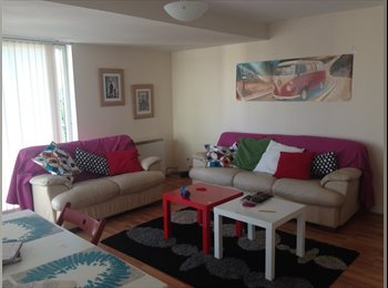 EasyRoommate UK - Nice double room available in modern flat - Glasgow Centre, Glasgow - £300 pcm
