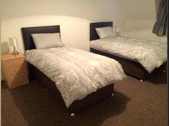 1 Shared Twin Room in a Modern 3-Bedroom House