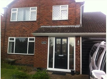 EasyRoommate UK - Double bedroom - Sharnford, Hinckley and Bosworth - £500 pcm