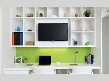 Spacious, Modern, New room