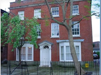 EasyRoommate UK - Southsea-lovely,spacious period flatshare. - Southsea, Portsmouth - £440 pcm