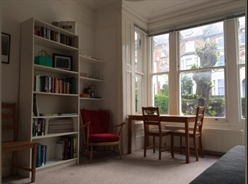 EasyRoommate UK - LARGE DOUBLE ROOM WITH LEAFY GARDEN VIEW - Archway, London - £850 pcm