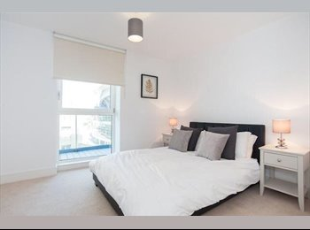 Brand new 2 bed 2 bath flat