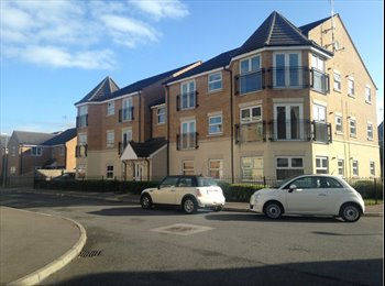 EasyRoommate UK - Beautiful apartment with room to rent :) l.buzzard - Bletchley, Milton Keynes - £410 pcm