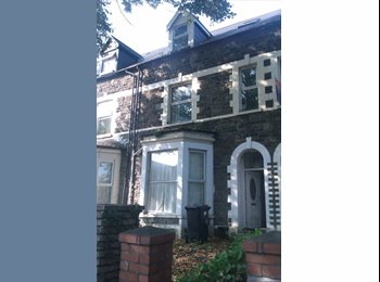 EasyRoommate UK - Terraced House in Cardiff - Cathays, Cardiff - £260 pcm