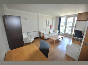 Room for rent in 3 bed flat on Euston road.