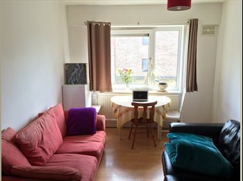 Single room bright and spacious with double bed