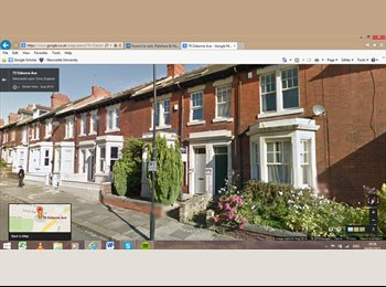 EasyRoommate UK - Modern, spacious house in Jesmond - Jesmond, Newcastle upon Tyne - £412 pcm