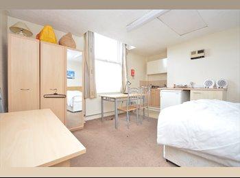 EasyRoommate UK - Long term bedsit flats in professional building - Burley, Leeds - £400 pcm