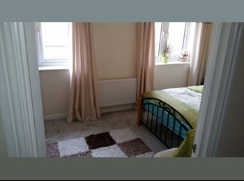 Clean double bedroom in house