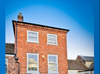 EasyRoommate UK - Double Room Available in Professional House - St John's, Worcester - £400 pcm