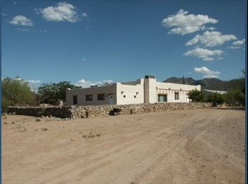 EasyRoommate US - MASTER SUITE IN RANCH HOUSE - Tucson, Tucson - $500 pcm