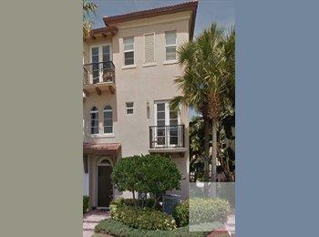 EasyRoommate US - Boca Townhome - Boca Raton, Ft Lauderdale Area - $975 pcm