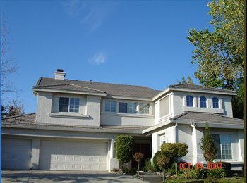 EasyRoommate US - Great City & house.  Happy safe environment for U. - Folsom, Sacramento Area - $600 pcm