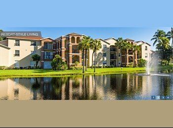 EasyRoommate US - Furnished Room Available. Ideal for Student Age - Boynton Beach, Ft Lauderdale Area - $600 pcm