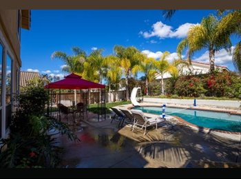 EasyRoommate US - Large Bedroom in Awesome House - San Marcos, San Diego - $980 pcm