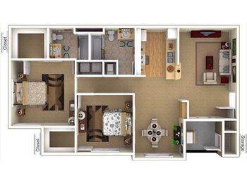 EasyRoommate US - 2 bed 2 bath lease transfer  - American Fork, Orem - $1,038 pcm