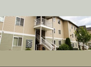 EasyRoommate US - 6 month lease-Cheney,WA-Boulder 2 BR apartment - Spokane, Spokane - $768 pcm