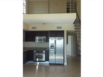 EasyRoommate US - 2 Story/Bilevel, 2 Beds, 2 Bts LOFT in Brickell - Brickell Avenue, Miami - $2,900 pcm